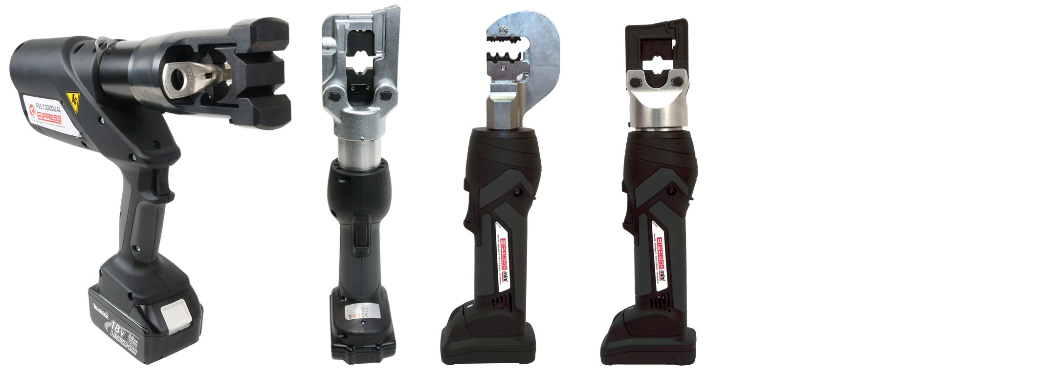 Elpress hydraulic crimping tools